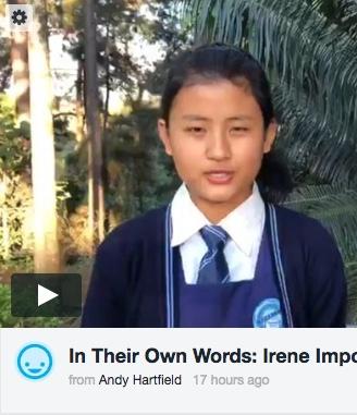 Irene talks about Education