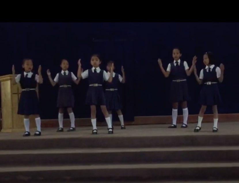 Dancing in Chapel